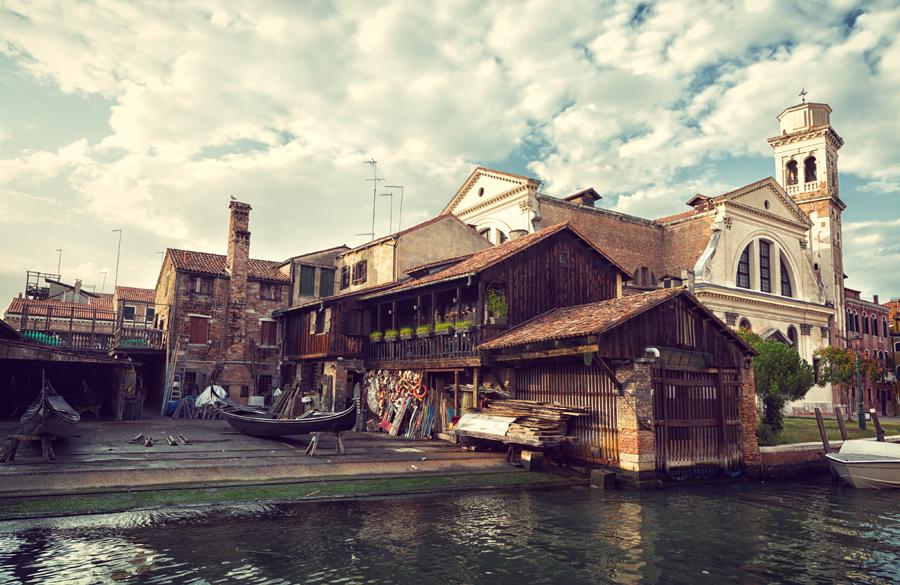 Ремонтная мастерская для гондол, Венеция