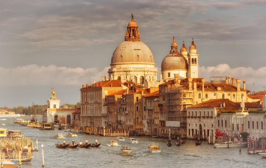 Вид с моста Академии. Венеция