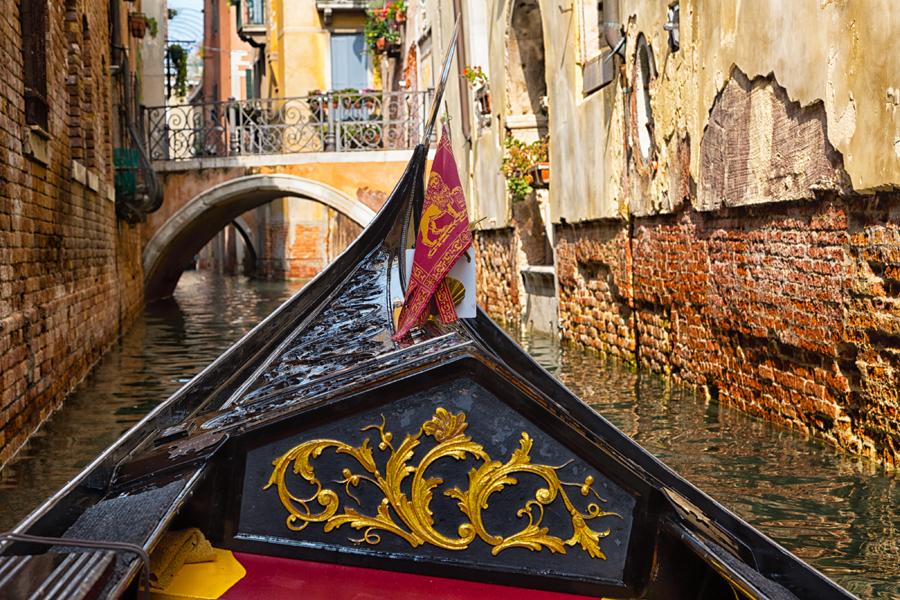 Прогулка на гондоле, Венеция