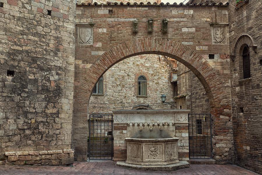 Перуджа, старая часть города