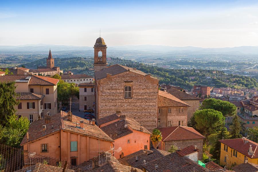 Перуджа. Церковь Santo Spirito