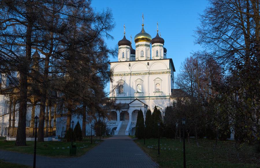 Свято-Успенский Иосифо-Волоцкий монастырь. Успенский собор