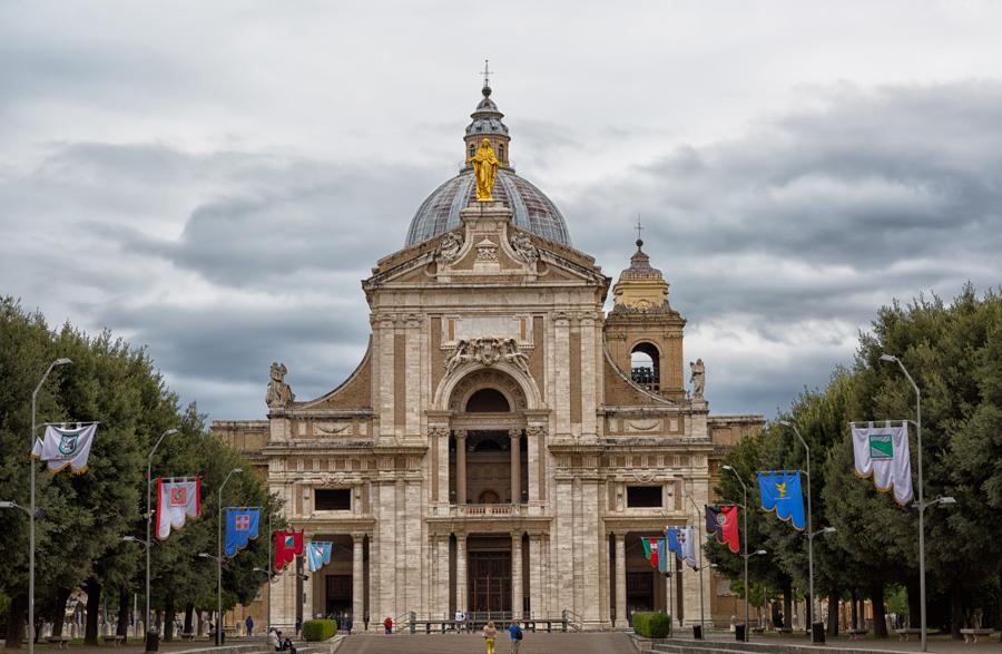 Ассизи, базилика Санта Мария дель Анджели