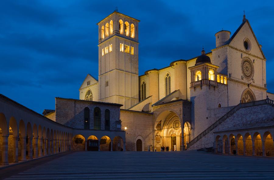 Ассизи, базилика Сан-Франческо
