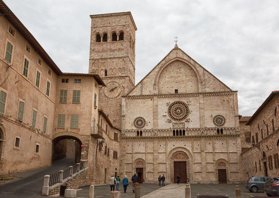 Кафедральный собор Ассизи