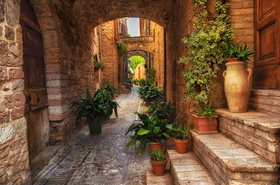 Спелло, Умбрия, Италия
