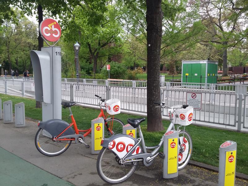 Велопрокат в Вене