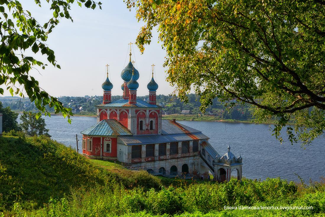 Преобаженско-Казанская церковь, Тутаев