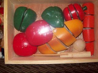 Разрезные овощи