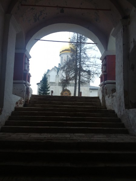 парадный вход