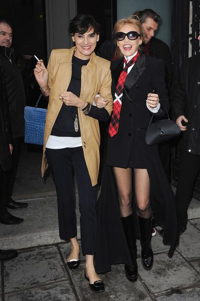 Ines+de+la+Fressange+Jean+Paul+Gaultier+Arrivals+6O5rspfdvk0l