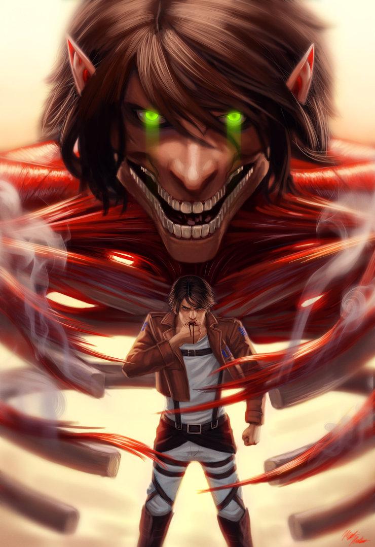 attack_on_titan_eren_jaeger_by_marrilliams-d7dl7hp
