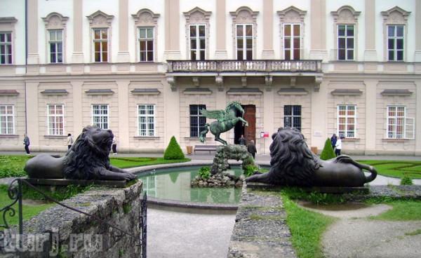 Зальдзбург сад Мирабель