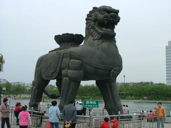 копия желез льва китай 80 тонн