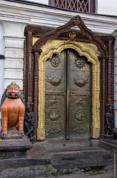 Непал Катманду Храм шивы непал