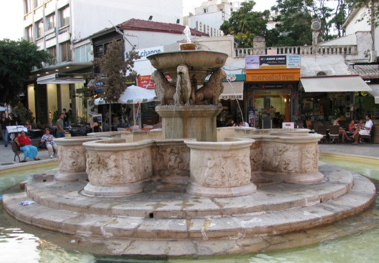 фонт льва Крит