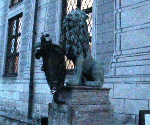 Мюнхен лев и морда
