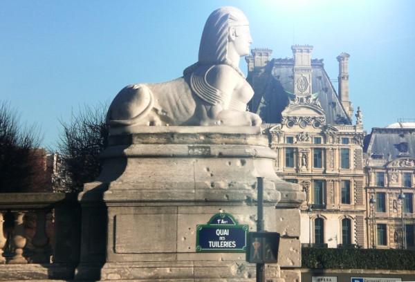 сфинкс Париж
