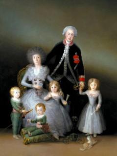 Франсиско гойя портрет герцога осине