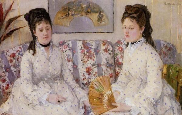 Сестры - Берта Моризо. 1869.