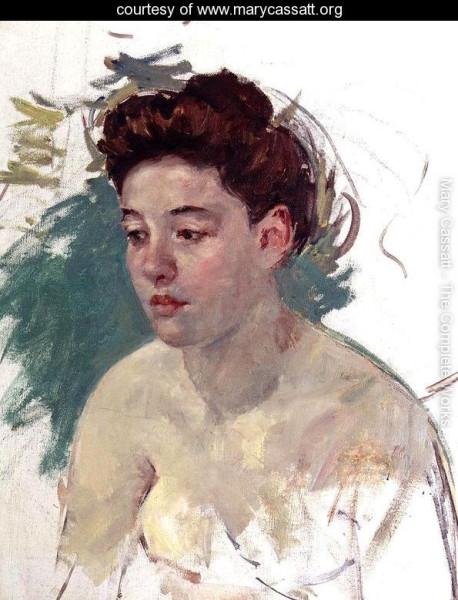 Sketch-Of-Antoinette-мари кассат