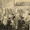 wSladeSchooldrawingclass1880The Slade School of Fine Art Slade School, drawing class. Illustrated London News. c. 1881.