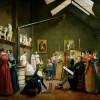 wwAdrienneMarieLouiseGrandpierrestudioThe studio of Abel de Pujol. Adrienne Marie Louise Grandpierre-Deverzy. (1798 – 1869). Painted 1821.
