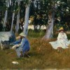 Джон Сінгер Сарджент. На етюдах. 1880-і рр.