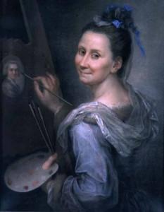 Giovanna Fratellini - Autoritratto 1720 Uffizi