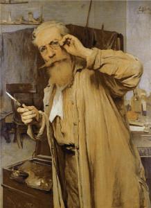 Хосе Хіменес Аранда. Автопортрет. 1901.