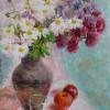 Натюрморт з хризантемами