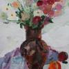 Анастасія Анікєєва. Натюрморт з хризантемами. 2013