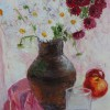 Натюрморт з хризантемами. 2013