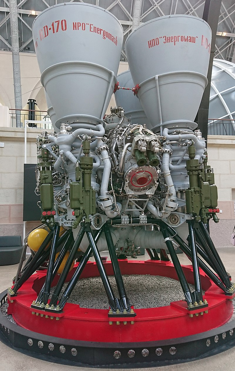 ЖРД РД-170.