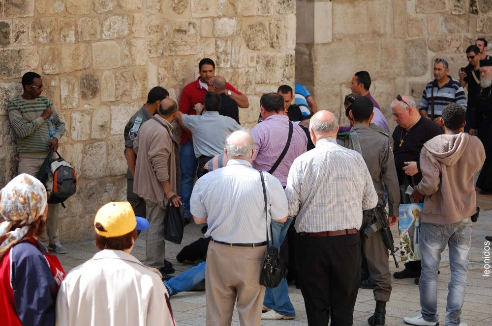 Арабы - христиане - отдельная  народность Израиля 15