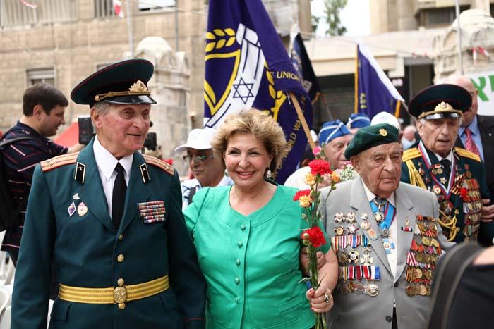 Торжественный парад Победы в Иерусалиме 4
