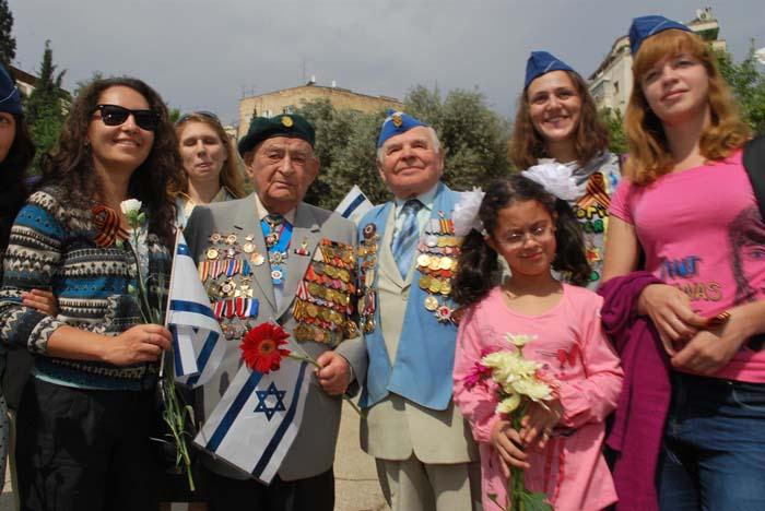 Торжественный парад Победы в Иерусалиме 8