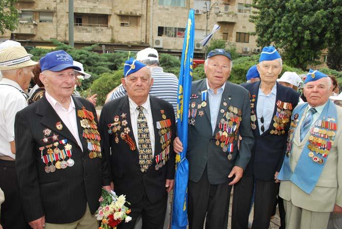 Торжественный парад Победы в Иерусалиме 10