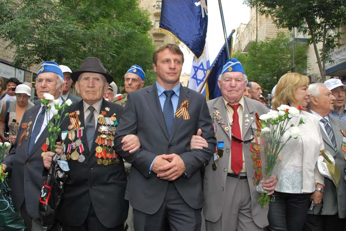 Торжественный парад Победы в Иерусалиме 14