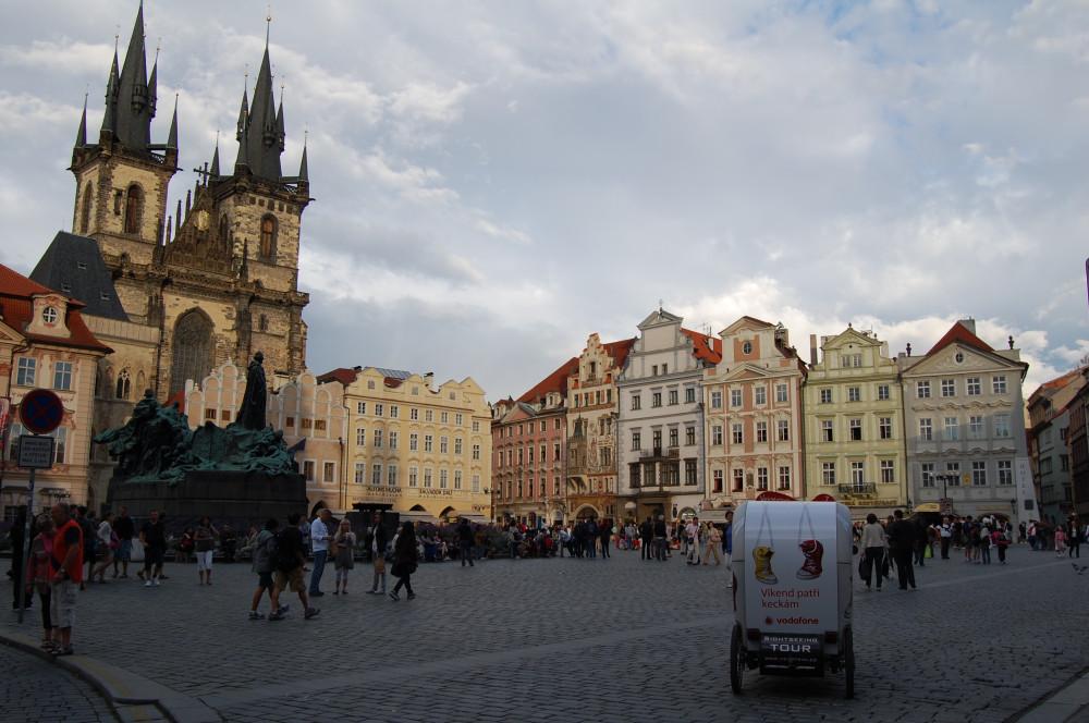 Удивительная Староместская площадь
