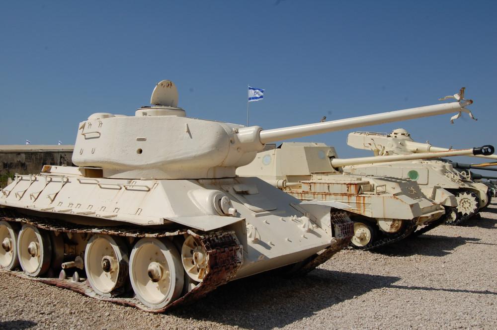 Музей танков в Израиле 1
