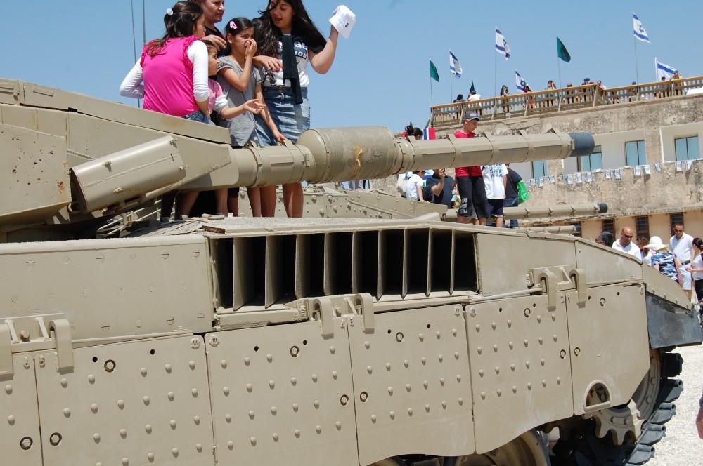 Музей танков в Израиле 12