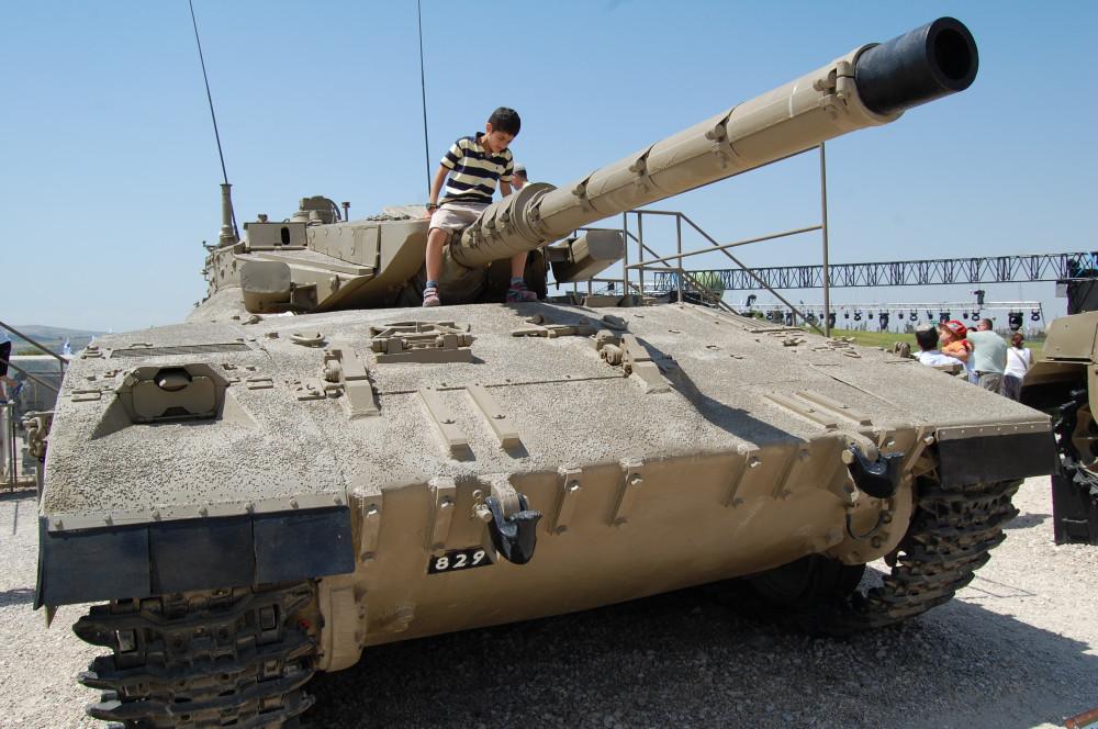 Музей танков в Израиле 14