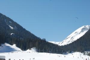 Подготовка тела перед катанием на горных лыжах