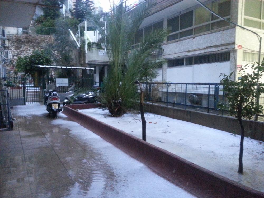 Снег в Тель Авиве 10