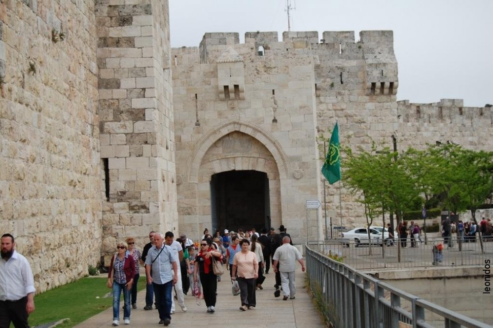 Иерусалим Старый город Песах 2014