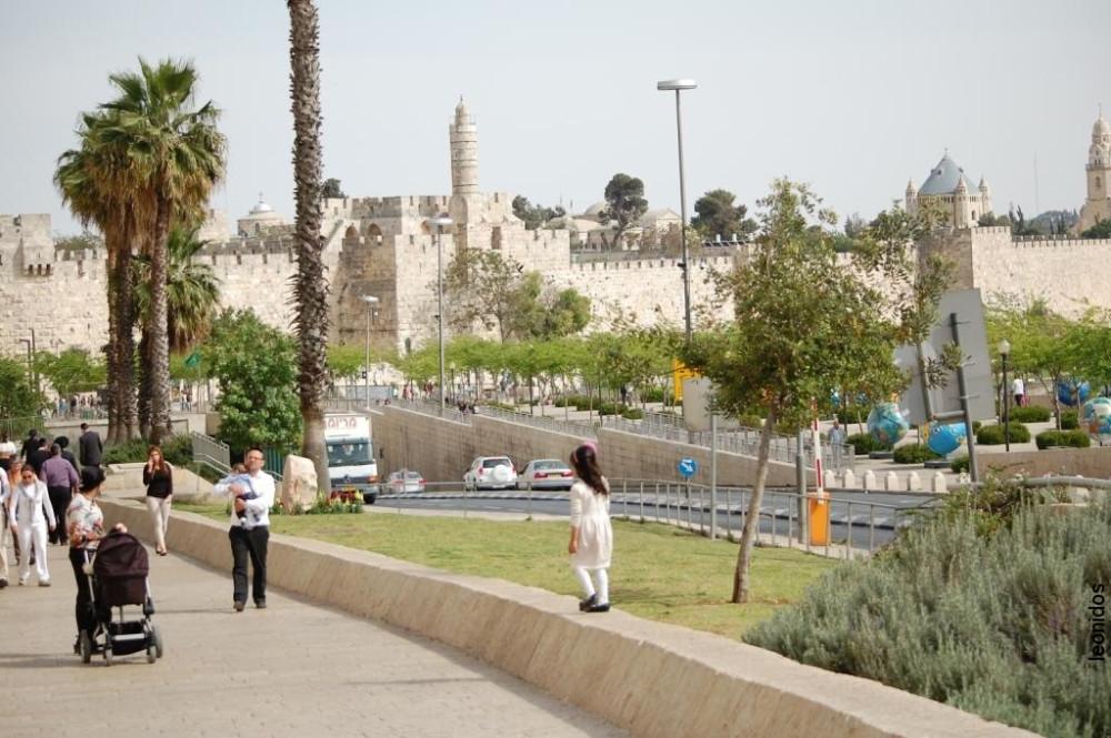 Иерусалим Старый город Песах 2014 6