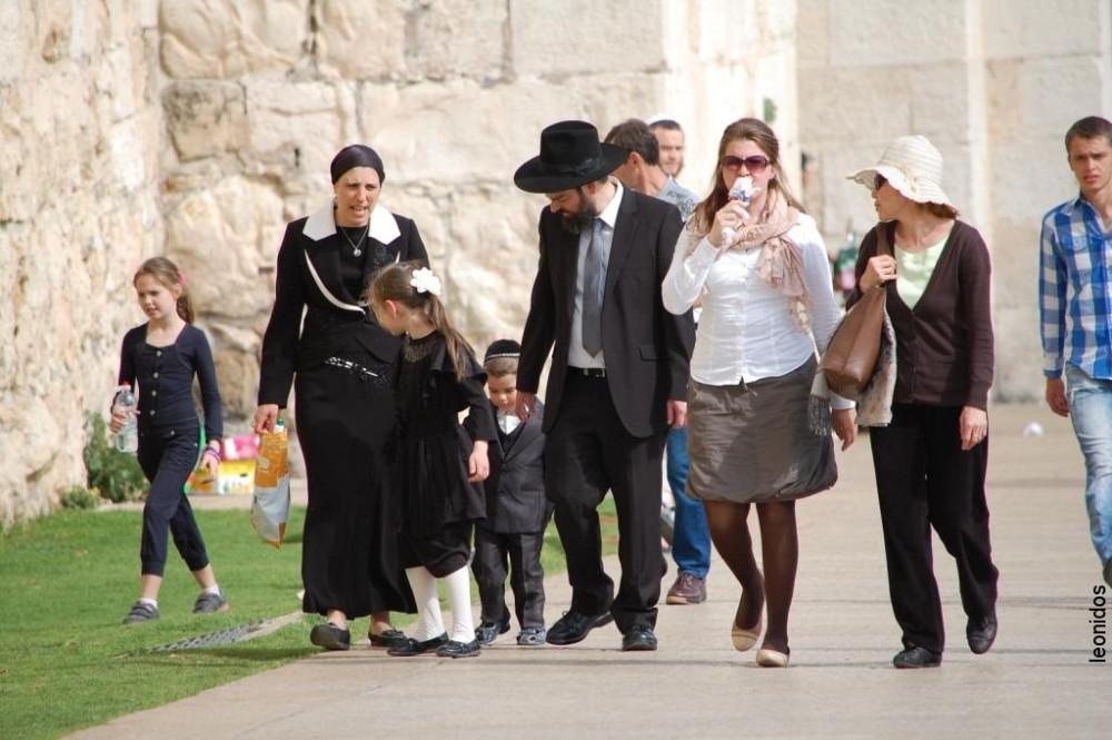 Иерусалим Старый город Песах 2014 7