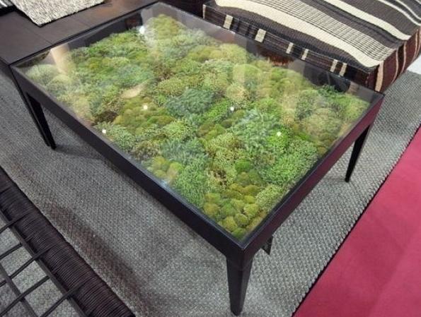 Столик своими руками со стеклом