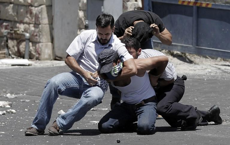Службы безопасности в Иерусалиме